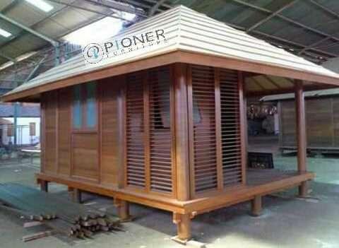 rumah kayu sederhana jati asli jepara - pioner furniture